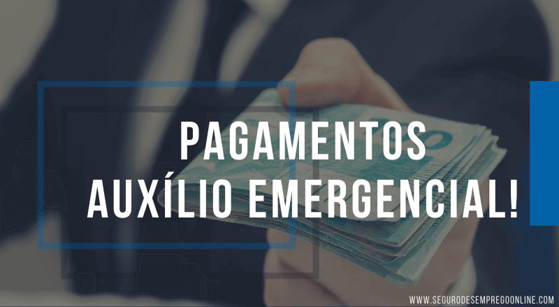 pagamentos auxílio emergencial