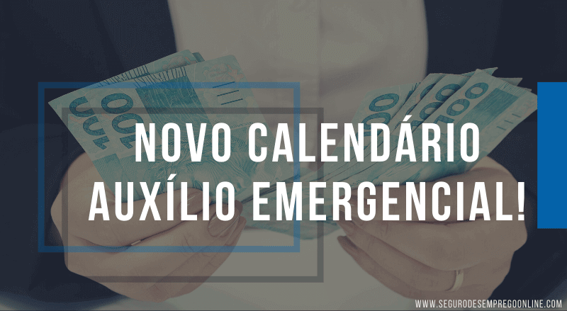 novo calendário auxílio emergencial